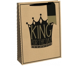 KING FOR THE DAY LARGE BAG
