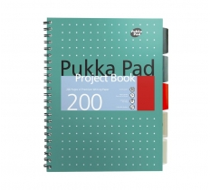PUKKA A4 Metallic Project Book