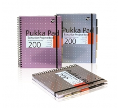 Pukka A4 Metallic Exec Project Book