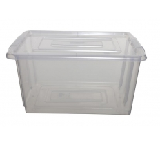 WHITEFURZE MEDIUM STACK & STORE STORAGE BOX BASE 32L