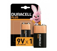 DURACELL PLUS 9V BATTERIES X 10