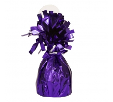 FOIL BALLOON WGHT - PURPLE