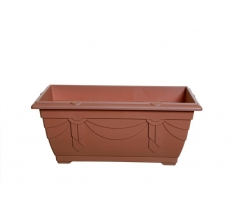 40cm Venetian Window Box - T/Cotta