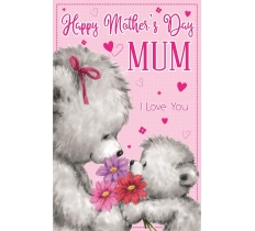 MOTHERS DAY CUTE BEAR JUMBO CARD