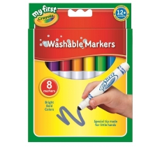MY FIRST CRAYOLA FIRST MARKERS 8PCS