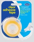Clear Tape Including Dispenser 19mm x 33m