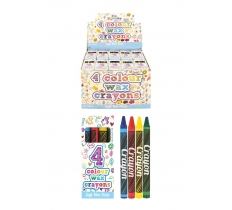 4 Pack Crayons x 120 ( 9p Each )