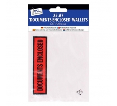 A7 DOCUMENTS ENCLOSED 25 PACK
