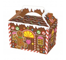 GINGERBREAD HOUSE FOOD BOX