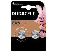 Duracell CR2025 3V Lithium Battery x 10