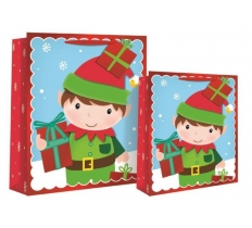 LARGE ELF FOAM LARGE GIFTBAG