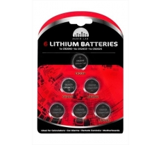 LITHIUM BATTERIES 6 PACK