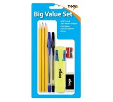 TIGER BIG VALUE STATIONERY SET