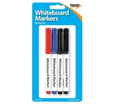 Slim Whiteboard Markers 4 Pack