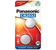 PANASONIC CR2032 3V LITHIUM BATTERIES 2 PACK x 10