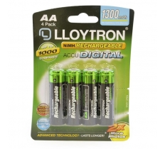 Lloytron AA 1300mAh Rechargeable Battery