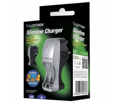 Lloytron Slimline AA & AAA Battery Charger