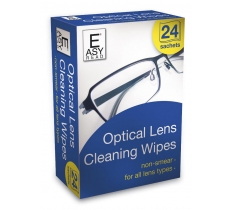 DUZZIT OPTICAL LENS CLEANING WIPES 24 PACK