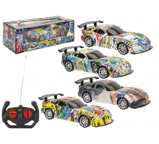 GRAFFITI COLOUR 1:20 REMOTE CONTROL VIPER CAR