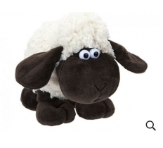 15CM WOOLY SHEEP WITH COMICAL EYES