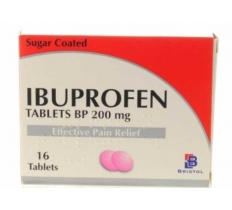 IBUPROFEN TABLETS 200MG 16'S X12