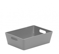 WHAM STUDIO BASKET RECTANGULAR GREY