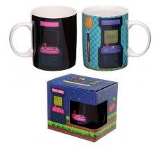 HEAT COLOUR CHANGING GAME OVER MUG
