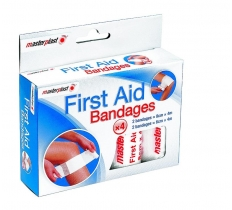 First Aid Bandages - 4Pk