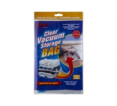 CLEAR VACUUM STORAGE BAG 50X60CM