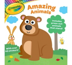 Crayola Activity Book (Amazing Animals)