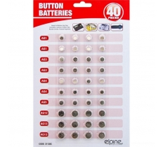 1.5V Button Cell Batteries 40 Pack