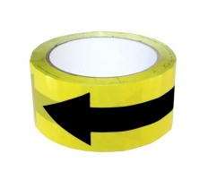 SAFETY FLOOR DIRECTION TAPE 50MM X 33M