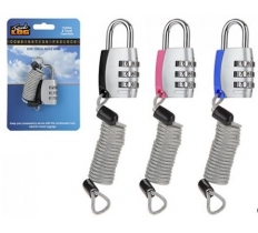 100CM WIRE COMBINATION LOCK FOR LUGGAGE