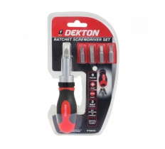 DEKTON RATCHET SCREWDRIVER SET