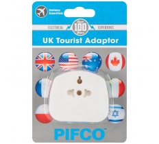 UK Tourist Visitor Travel Adaptor
