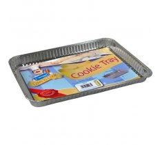 RECTANGULAR FOIL COOKIE TRAYS 3 PACK
