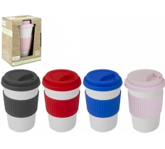 ECO CONNECTION BAMBOO TRAVEL MUG WITH SLEEVE