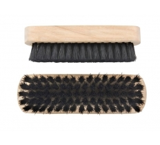 ELLIOTTS WOODEN BLACK SHOE BRUSHES SET OF 2
