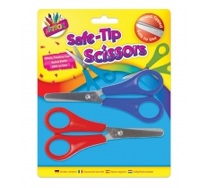 SAFETY SCISSOR 2 PACK