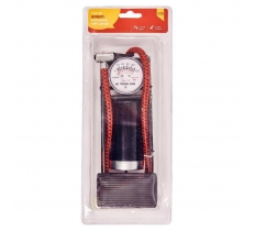 AMTECH SINGLE FOOT PUMP WITH GAUGE