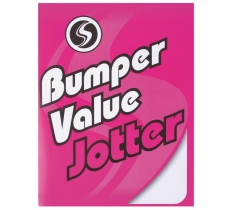 SILVINE BUMPER VALUE JOTTER 229MM X 178MM 200 PLAIN PAGES