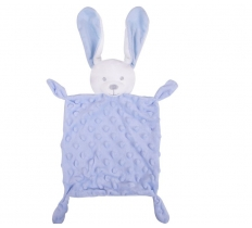 RABBIT COMFORTER BLUE