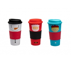 CHRISTMAS TRAVEL CUP
