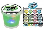 CRYSTAL SLIME PUTTY WITH LIGHT 80G