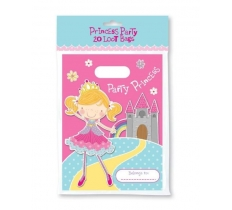 PRINCESS X 20 PACK PARTY BAGS