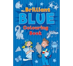 The Brilliant Blue Colouring Book