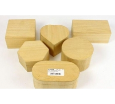 ASSORTED CRAFT SHAPED BOXES