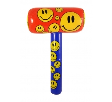 INFLATABLE MALLET SMILE 48CM