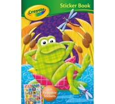 CRAYOLA STICKER BOOK FROG (ZERO VAT)