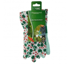 GARDEN LIGHTWEIGHT POLKA DOT AND FLORAL GLOVES